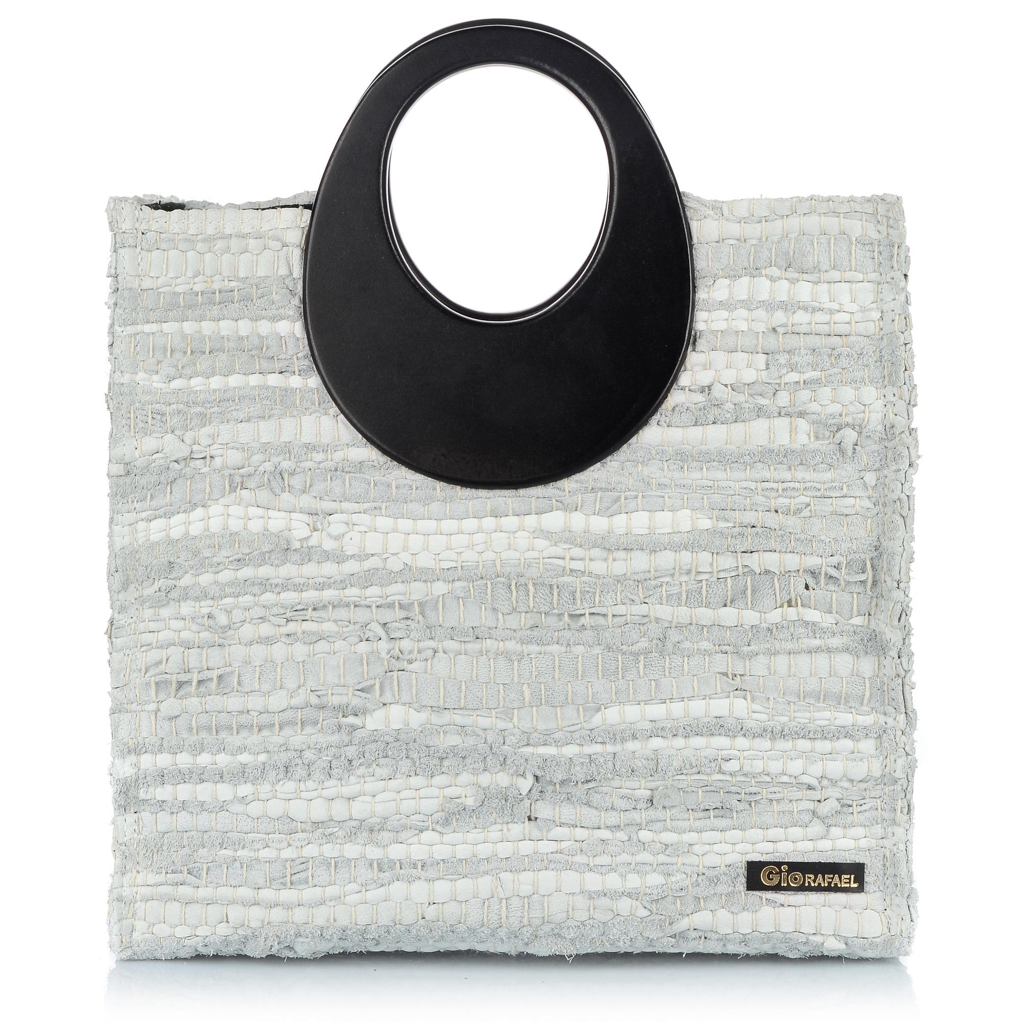 f312ff4444 White Angel – GioRafael – Handmade Handbags – Luxurious Kourelou ...